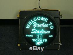 Yankee Stadium New York Yankees Traffic Light Stadium Sign