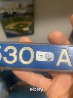 Yankee Stadium Sign, Railing Marker. New York Yankees