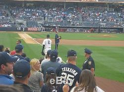 You Pick 9-Game Plan 2 Field Level Sec. 109 Row 1 New York Yankees Tickets